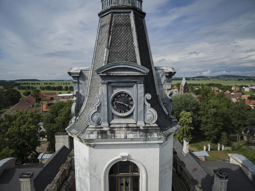 Pałac w Roztoce. 2016 r.