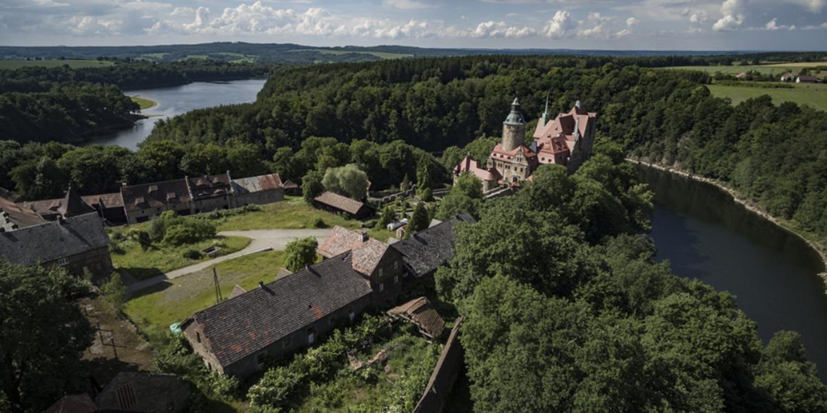 Zamek Czocha, Leśna. 2014 r.