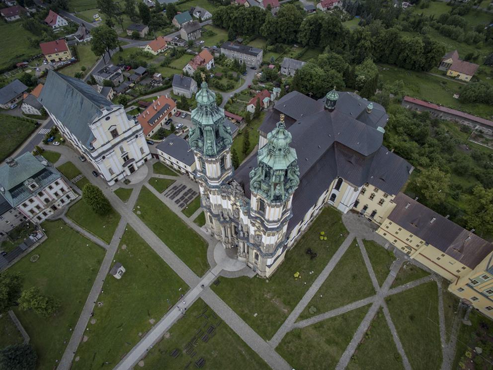 Bazylika w Krzeszowie. 2014 r.
