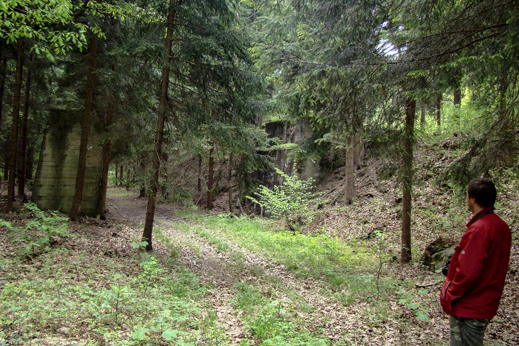 Naziemne okolice kompleksu Włodarz. 2009 r