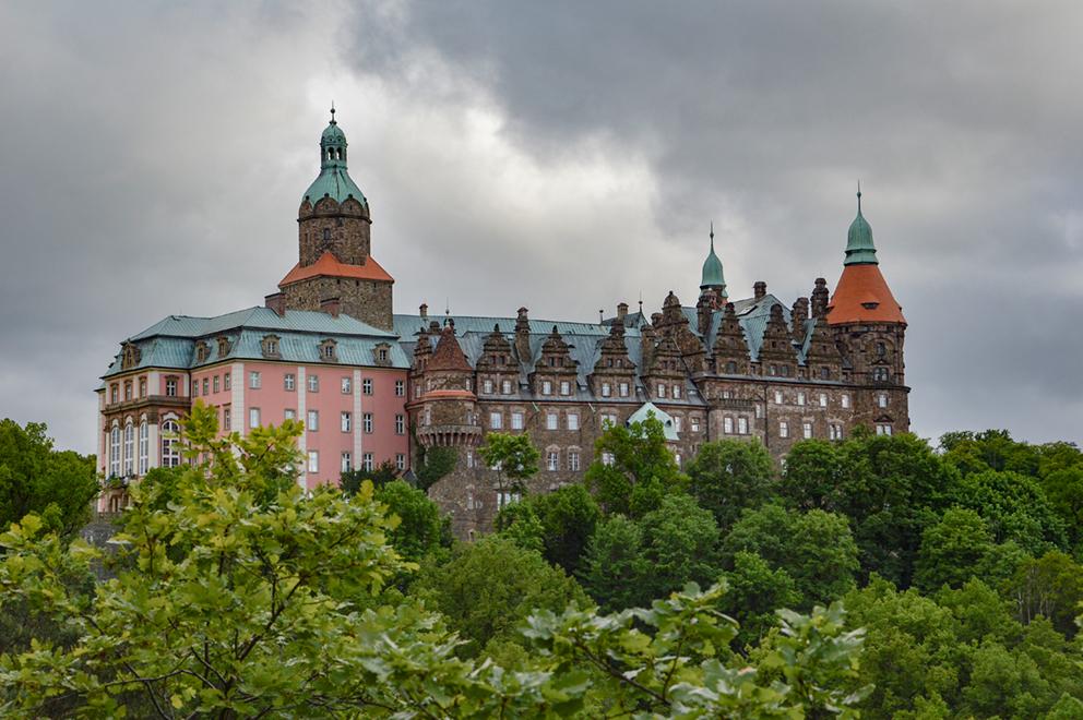 Zamek Książ, Wałbrzych. 2014 r.