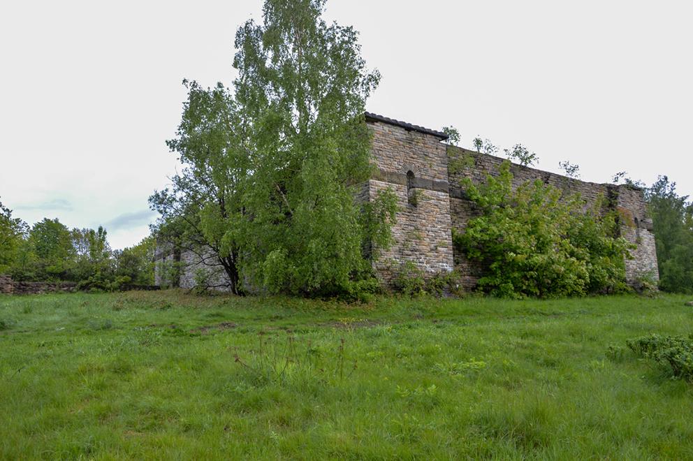 Mauzoleum /Totenburg/, Wałbrzych. 2013 r.