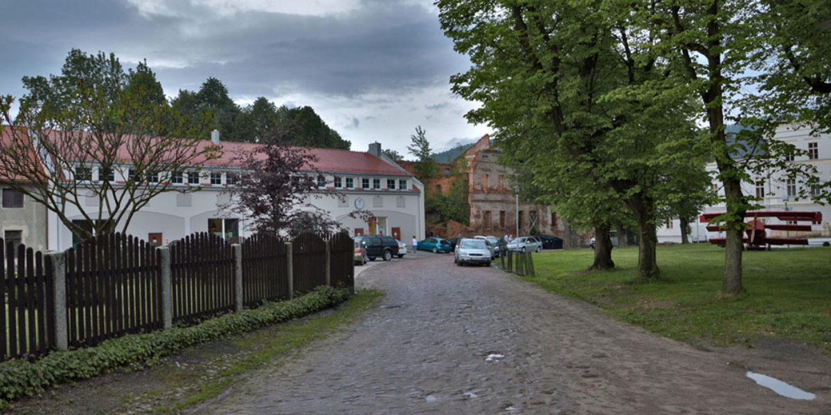 Pałac Jedlinka. 2014 r.