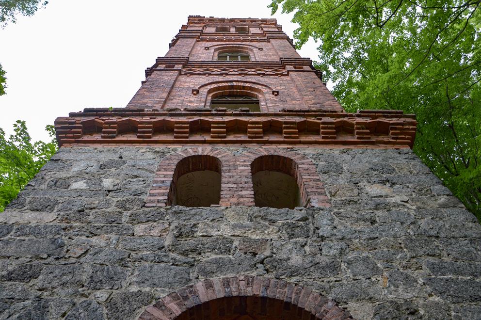 Wieża widowkowa, Maciejowa. 2015 r.