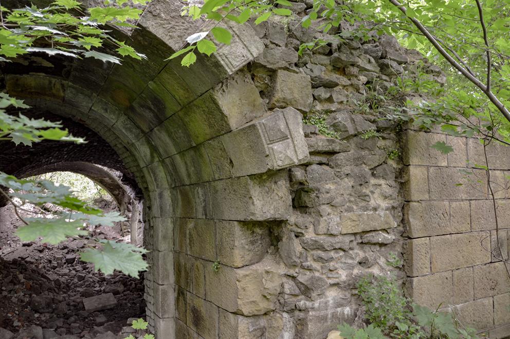 Ruiny Zamku Grodztwo, Kamienna Góra. 2015 r.