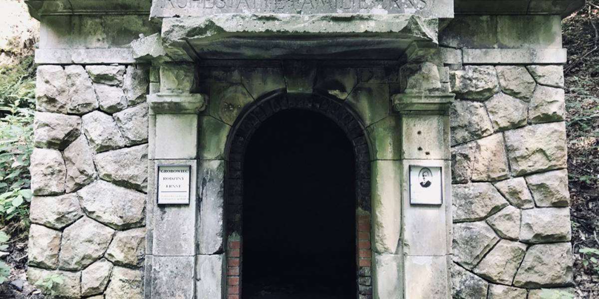 Mauzoleum rodziny Ernst, Kłodzko. 2018 r.