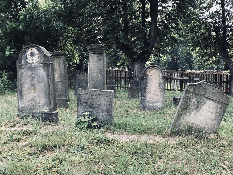 Stary cmentarz żydowski, Kamienna Góra. 2018 r.