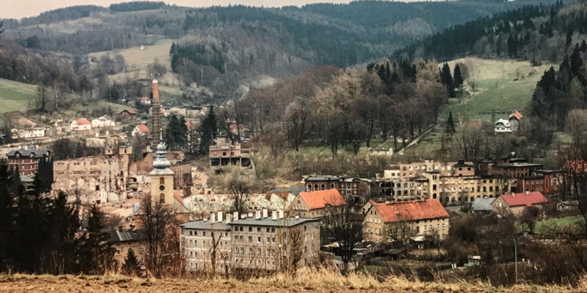 Widok na Walim. 2004 r.