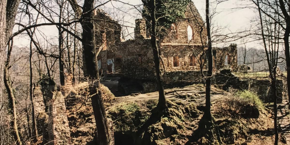 """""""Stary"""" zamek Książ, Wałbrzych. 2004 r."""