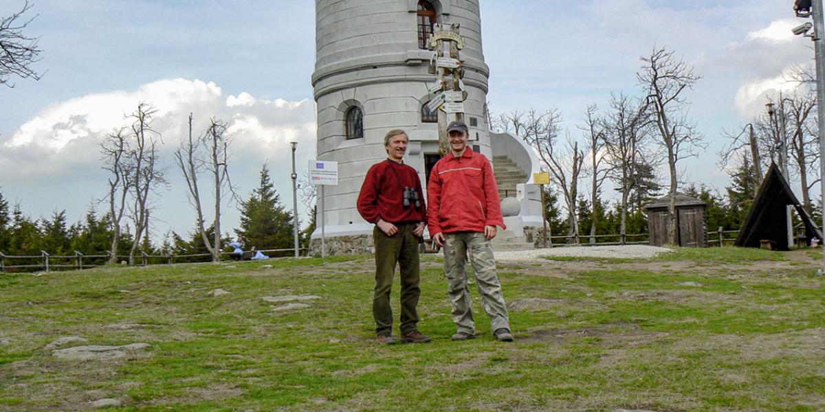 Wieża widokowa, Wielka Sowa. 2008 r.