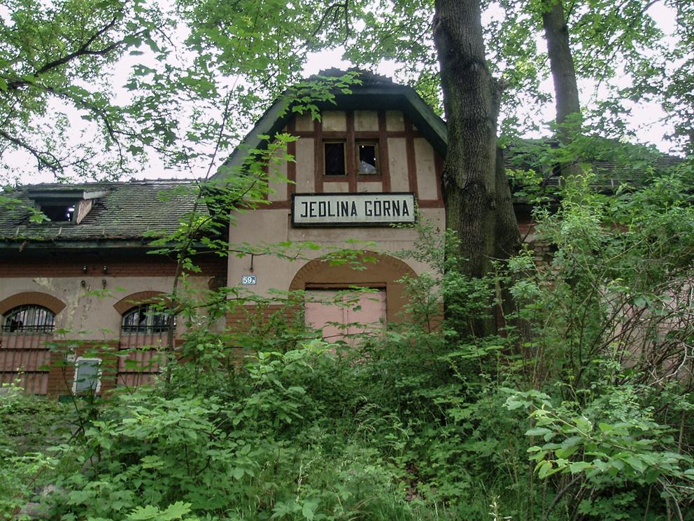 Stacja kolejowa, Jedlina Górna. 2007 r.