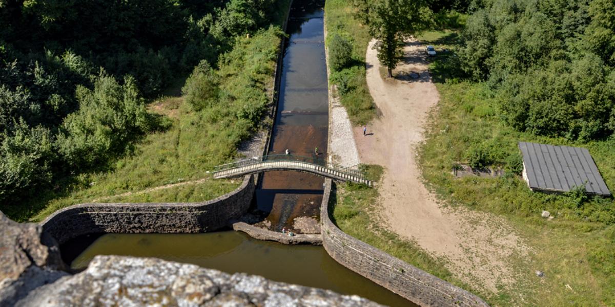 Zapora wodna w Zagórzu Śląskim