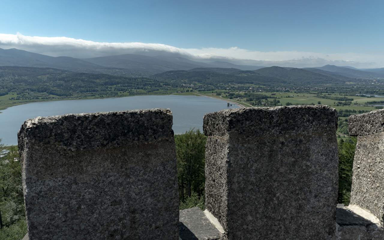 Zamek Marczyce, czerwiec 2019 r.