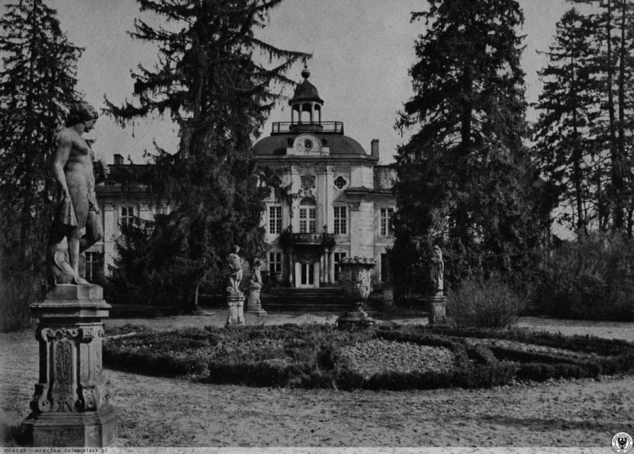 Pałac Kospothów w Brzezince. Źródło: polska-org.pl